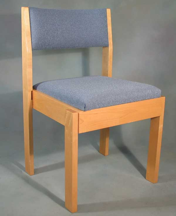 Marshallok 3001 chair in solid Maple